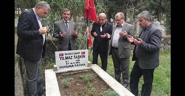 MHP Gebze Yılmaz Taşkını andı