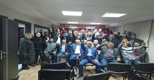 MHP Gebze'de seçim hazırlıkları