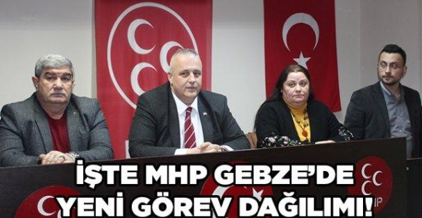 MHP Gebze'de yeni görev dağılımı!