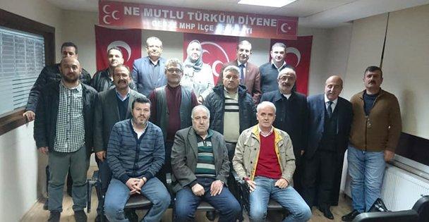 MHP'de istifalar karara bağlandı