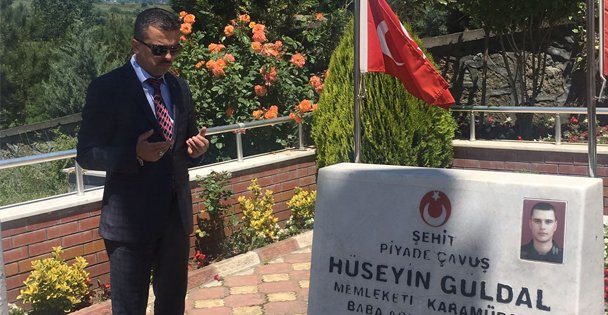 MHP'li Vekil Adayı Şehit Annelerini Unutmadı