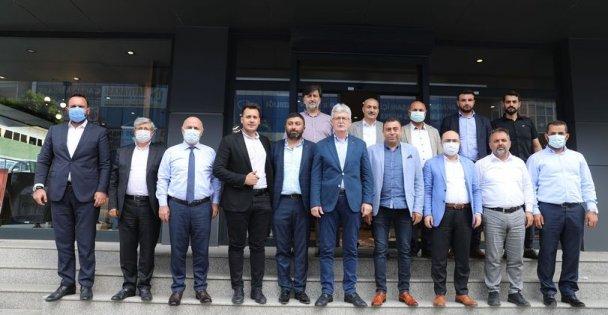 Milletvekili Yılmaz,İl Başkanı Ellibeş ve İlçe Başkanı Acay'dan esnaf ziyareti!