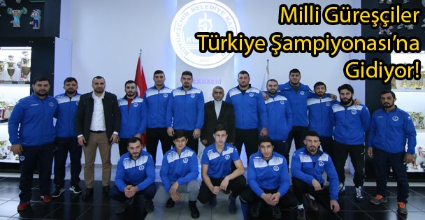 Milli Güreşçiler Türkiye Şampiyonası'na Gidiyor!