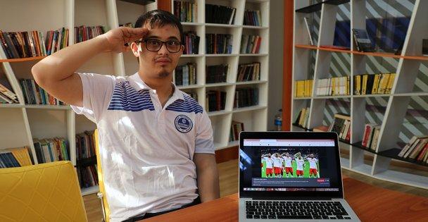 Milli judocu Talha Ahmet Erdem 'Yılın Fotoğrafları' oylamasına katıldı