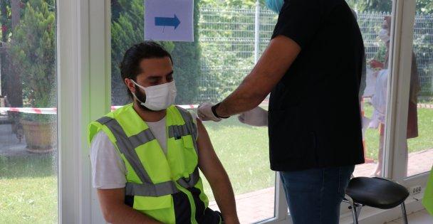 Mobil aşı ekipleri
