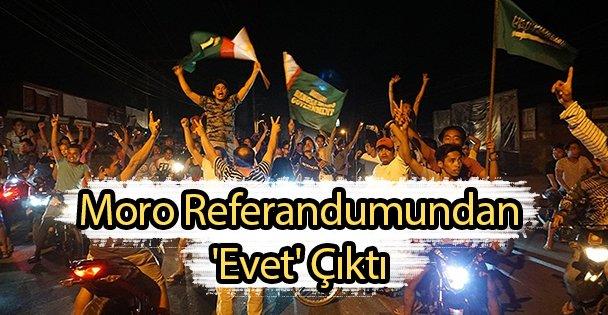 Moro Referandumundan 'Evet' Çıktı