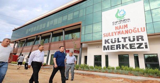 Naim Süleymanoğlu Kültür Merkezi Tamamlandı