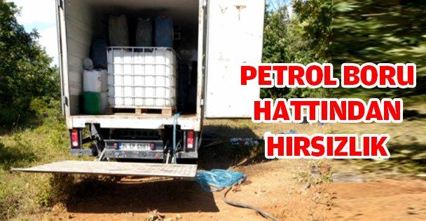 NATO petrol boru hattından hırsızlık