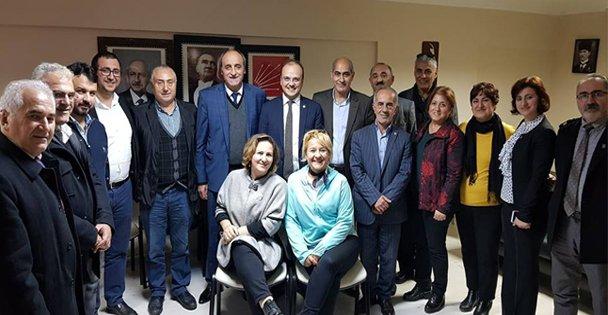 Necati Tığlı, Gebze'de ziyaretler gerçekleştirdi