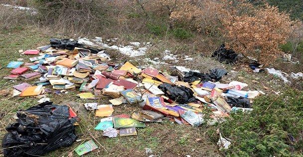 O ilçede Gülen'in Kitapları Bulundu