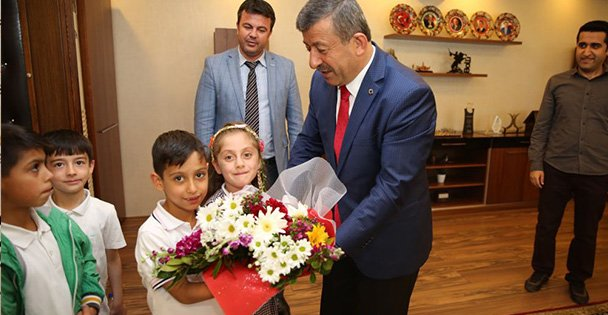 Öğrencilerden Karabacak'a ziyaret