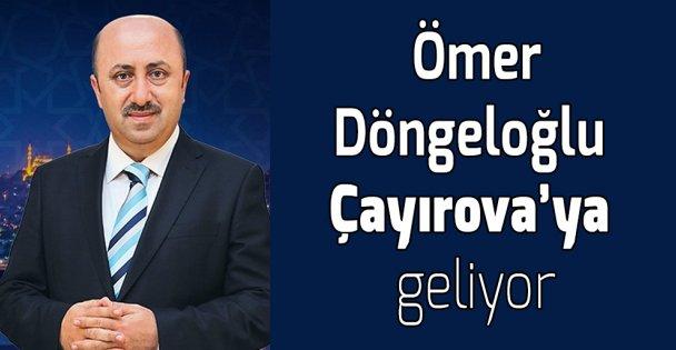 Ömer Döngeloğlu Çayırova'ya geliyor