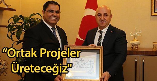 'Ortak Projeler Üreteceğiz