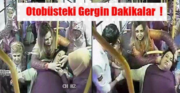 Otobüsteki Gergin Dakikalar  !