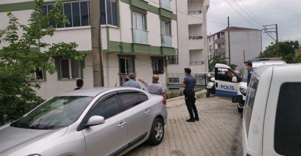 Otomobilin evden alınan anahtarla çalınması kamerada