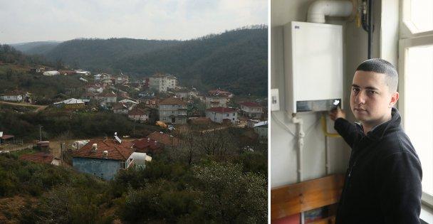 Ovacık Mahallesi'nde doğalgaz sevinci