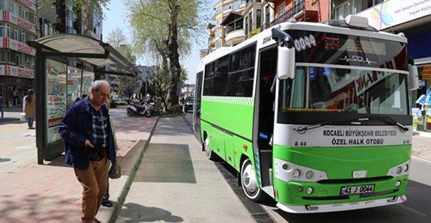 Özel halk otobüslerine sefer cezası