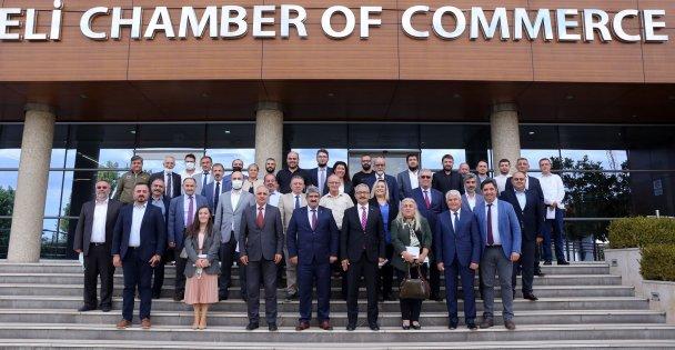 Özel okul yöneticileri, Yeni İl Milli Eğitim Müdürü Akmanşen ile KOTO'da bir araya geldi