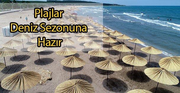 Plajlar Deniz Sezonuna Hazır