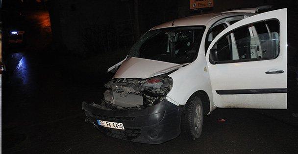 Polisten kaçan hırsız kaza yapınca yakalandı