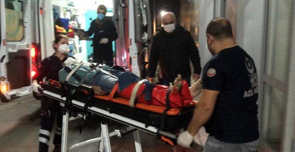 Polisten kaçarken 2 metrelik duvardan düşen kişinin ayağını kırdı