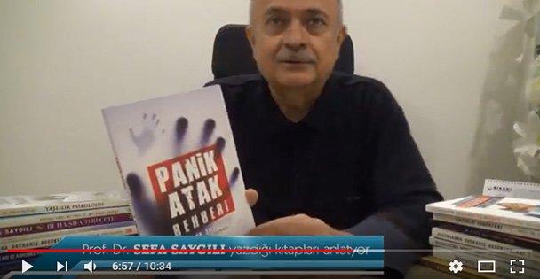 Prof. Dr. Sefa Saygılı kitaplarını anlatıyor