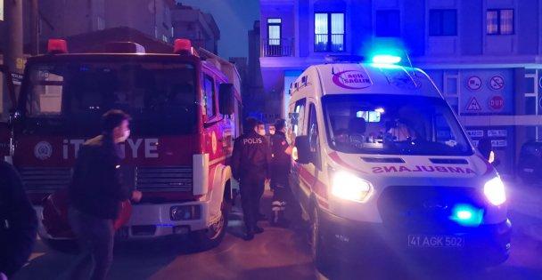 Rögara Düşen Kadın Yaralandı