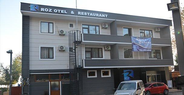 Roz Otel açılıyor
