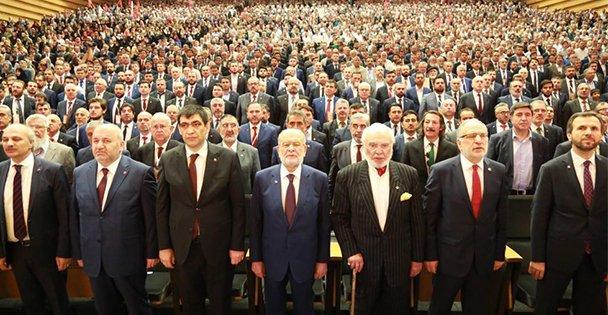 Saadet Ankara'da Adaylarını Tanıttı
