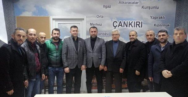 SAADET ÇAYIROVA ÇANKIRI'LILARI ZİYARET ETTİ