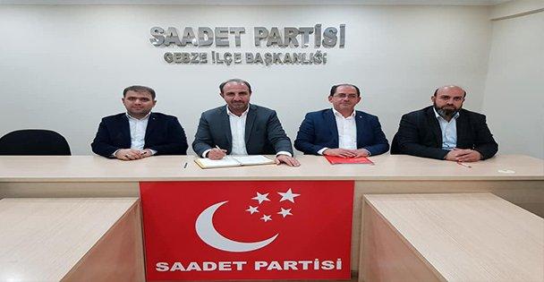 Saadet Partisi Gebze İlçe Teşkilat Toplantısı