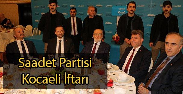 Saadet Partisi Kocaeli İftarı
