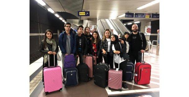 Sarkuysan öğrencileri Almanya yolcusu