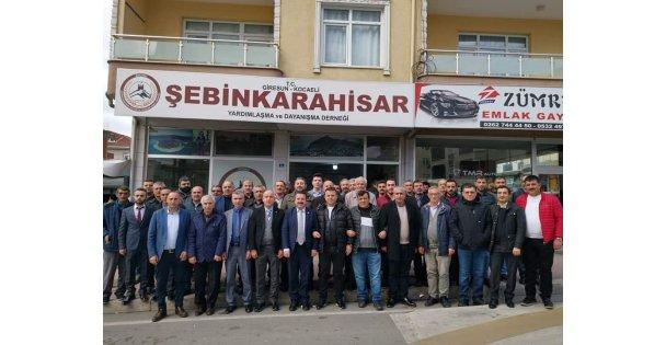 Şebinkarahisarlılar Seçime Gitti