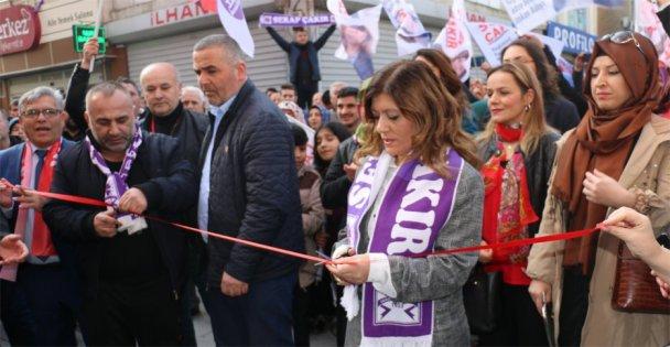 Serap Çakır'dan SKM açılışı