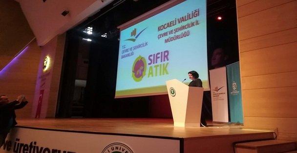 """'Sıfır Atık Projesi"""" KOÜ'de anlatıldı"""
