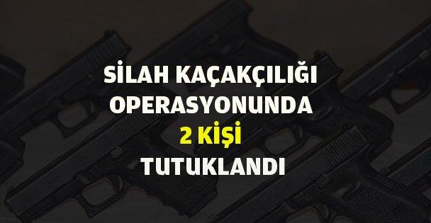 Silah kaçakçılığı operasyonu!