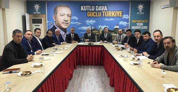SKM'de Erdoğan Seferberliği!