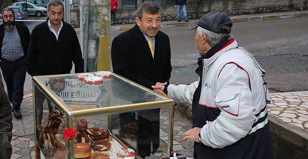 Şükrü Karabacak'tan Cuma Mesaisi