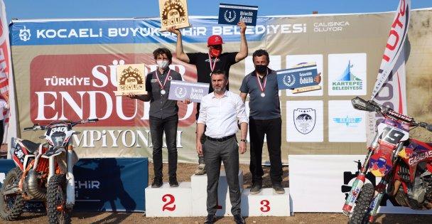 Süper Enduro GP, Kocaeli'de tamamlandı yarışlar nefes kesti