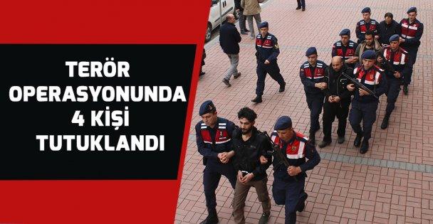 Terör Operasyonu'nda 4 tutuklama