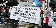 60a yakın işçinin ücretsiz izne çıkarıldığı Tayaş Gıdada eylem