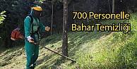 700 Personelle Bahar Temizliği