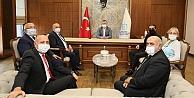 Ahilik Komitesinden Başkan Büyükakına ziyaret