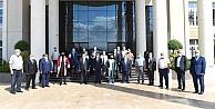 Ahilik Kutlama Komitesi Vali Seddar Yavuzu Ziyaret Etti