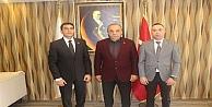 Ahmet ODABAŞ Darıca Kaymakamı Ömer Karamanı ziyaret etti