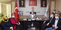 AK Parti Kocaeli Milletvekili Zeybekten ziyaret