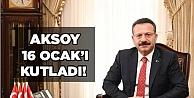 Aksoy, 16 Ocakı kutladı!
