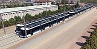Altıncı tramvay aracı raylara indi