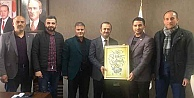 Anadolu Gençlik Derneğinden Yaşar ÇAKMAK'a ziyaret